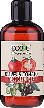 """Fragrances, Perfumes, Cosmetics Cleansing Gel """"Tomato & Olive"""" - Eco U Face Cleanser"""