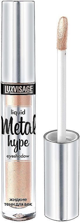 Liquid Eyeshadow - Luxvisage Metal Hype Liquid Eyeshadow