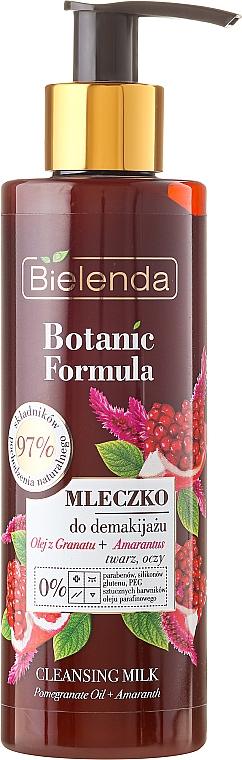 Cleansing Face Milk - Bielenda Botanic Formula Pomegranate Oil + Amaranth Cleansing Milk