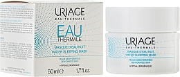 Fragrances, Perfumes, Cosmetics Night Face Mask - Uriage Eau Thermale Water Sleeping Mask