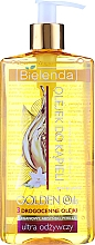 Fragrances, Perfumes, Cosmetics Ultra Nourishing Bath & Shower Oil with Precious Oils - Bielenda Golden Oils