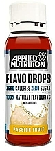 """Fragrances, Perfumes, Cosmetics Natural Food Flavouring """"Passion Fruit"""" - Applied Nutrition Flavo Drops Passion Fruit"""