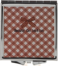 Fragrances, Perfumes, Cosmetics Pocket Mirror 85604, 6 cm, plaid - Top Choice Beauty Collection Mirror