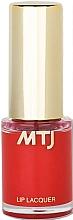 Fragrances, Perfumes, Cosmetics Lip Lacquer - MTJ Cosmetics Liquid Lip Lacquer Effect 6H