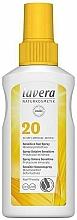 Fragrances, Perfumes, Cosmetics Sun Spray for Sensitive Skin - Lavera Sensitive Sun Spray SPF 20
