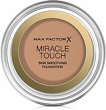 Fragrances, Perfumes, Cosmetics Foundation Powder-Cream - Max Factor Miracle Touch