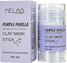Fragrances, Perfumes, Cosmetics Purple Perilla Facial Mask Stick - Melao Purple Perilla Clay Mask Stick