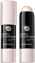 Fragrances, Perfumes, Cosmetics Stick Highlighter - Bell HypoAllergenic Illuminating Stick
