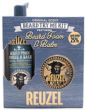 Fragrances, Perfumes, Cosmetics Set - Reuzel Original Scent Beard Try Me Kit (balm/35g + foam/70ml )