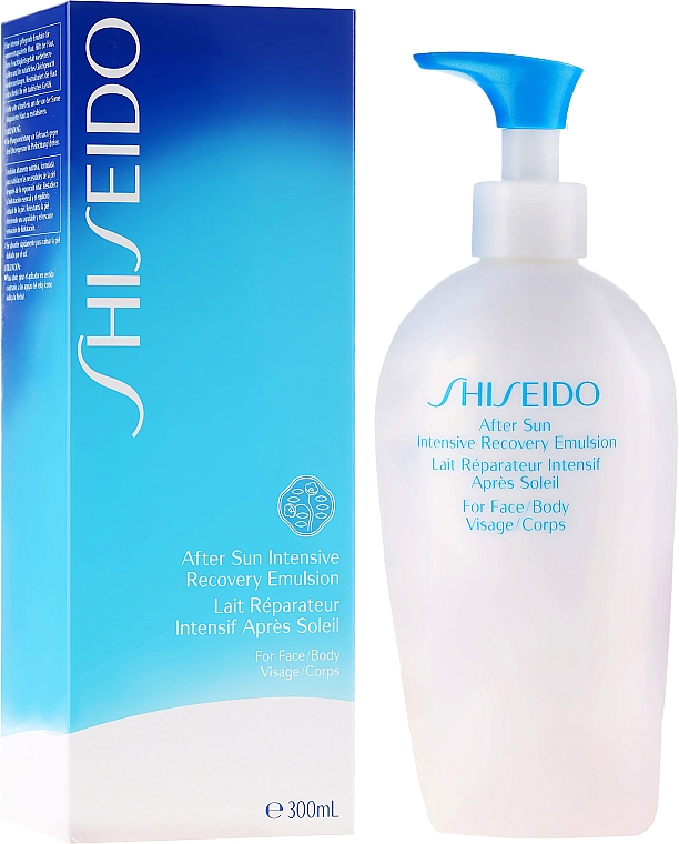 After Sun Face and Body Emulsion - Shiseido Suncare After Sun Intensive Recovery Emulsion — photo N1