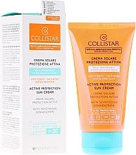 Fragrances, Perfumes, Cosmetics Tanning Cream - Collistar Active Protection Sun Cream SPF30 150ml