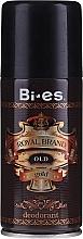 Fragrances, Perfumes, Cosmetics Deodorant-Spray - Bi-es Royal Brand Gold