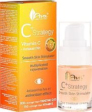 Fragrances, Perfumes, Cosmetics Vitamin C Eye Cream - Ava Laboratorium C+ Strategy Smooth Skin Stimulator Eye Contour Cream