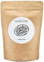Fragrances, Perfumes, Cosmetics Coconut Body Scrub - Body Boom Coconut Scrub Sweet Coco