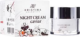 Fragrances, Perfumes, Cosmetics Firming Caviar Face Cream - Hristina Cosmetics Orient Caviar Night Cream