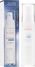 Fragrances, Perfumes, Cosmetics Night Peeling Cream for Radiance - Avene A-Oxitive Night Peeling Cream