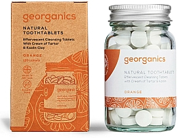 """Fragrances, Perfumes, Cosmetics Tooth Cleansing Tablets """"Orange"""" - Georganics Natural Toothtablets Orange"""