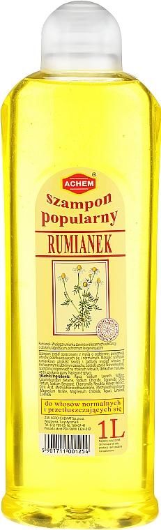 """Hair Shampoo """"Chamomile"""" - Achem Popular Camomile Shampoo — photo N3"""