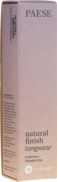 Foundation - Paese Natural Finish Longwear
