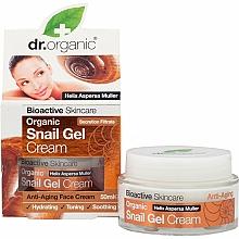 Fragrances, Perfumes, Cosmetics Facial Shail Mucin Gel-Cream - Dr. Organic Bioactive Skincare Snail Gel Cream