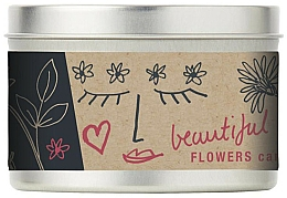 Fragrances, Perfumes, Cosmetics Scented Candle - Bath House Scented Candle Wild Flower
