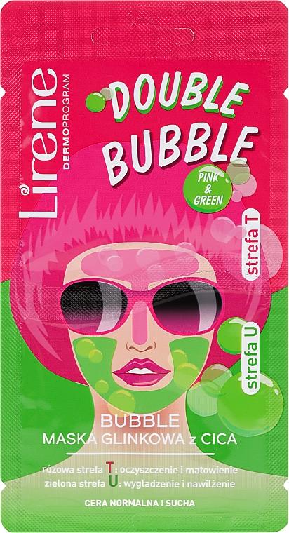 Bubble Cica Mask - Lirene Double Bubble Cica Mask