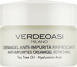 Fragrances, Perfumes, Cosmetics Refreshing Anti-Impurities Cream Gel - Verdeoasi Anti-Impurities Creamgel Refreshing