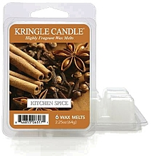Fragrances, Perfumes, Cosmetics Scented Wax - Kringle Candle Kitchen Spice Wax Melt