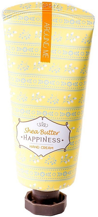 Shea Butter Hand Cream - Welcos Around Me Happiness Hand Cream Shea Butter