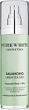 Fragrances, Perfumes, Cosmetics Face Spray - Pure White Cosmetics Balancing Green Tea Mist