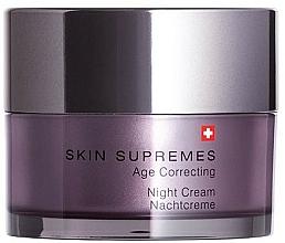 Fragrances, Perfumes, Cosmetics Night Face Cream - Artemis of Switzerland Skin Supremes Age Correcting Night Cream