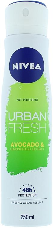 Antiperspirant Deodorant Spray - Nivea Urban Fresh Avocado And Lemongrass Anti-Perspirant Spray
