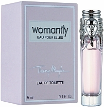 Fragrances, Perfumes, Cosmetics Mugler Womanity Eau Pour Elles - Eau de Toilette (mini size)