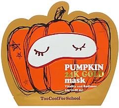 Fragrances, Perfumes, Cosmetics Pumpkin & Gold Nourishing Mask - Too Cool For School Pumpkin 24k Gold Mask