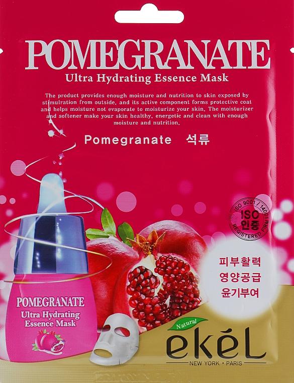 Repair Pomegranate Sheet Mask - Ekel Pomegranate Ultra Hydrating Essence Mask