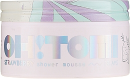"Fragrances, Perfumes, Cosmetics Shower Mousse ""Strawberry"" - Oh!Tomi Dreams Strawberry Shower Mousse"