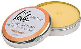 Fragrances, Perfumes, Cosmetics Natural Creamy Deodorant - We Love The Planet Deodorant Original Orange