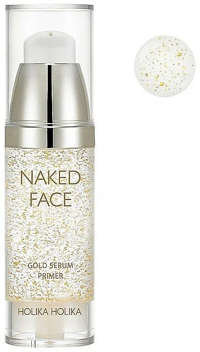 Illuminating Primer Serum - Holika Holika Naked Face Gold Serum Primer