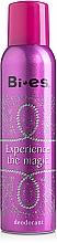 Fragrances, Perfumes, Cosmetics Bi-Es Experience The Magic - Deodorant Spray