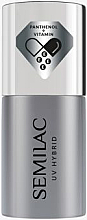 Fragrances, Perfumes, Cosmetics Gel Polish Base Coat - Semilac UV Hybrid Sensitive Care Base