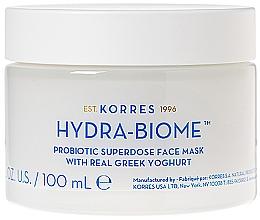 Fragrances, Perfumes, Cosmetics Greek Yogurt Face Mask - Korres Greek Yoghurt Hydra-Biome Probiotic Superdose Face Mask