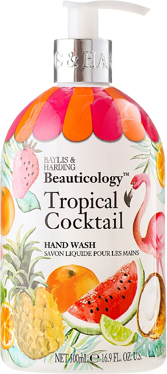 Hand Liquid Soap - Baylis & Harding Beauticology Tropical Cocktail Hand Wash