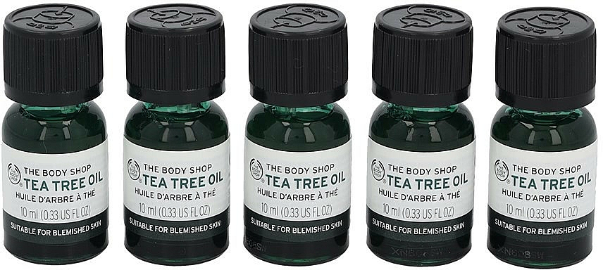 Set - The Body Shop Travel Exclusive Tea Tree Oil Collection (oil/5x10ml) — photo N2