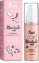 Fragrances, Perfumes, Cosmetics 4-in-1 Luminous Fluid Cream - 7 Days Illuminate Me Luminous Fluid Cream 4in1