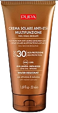 Fragrances, Perfumes, Cosmetics Anti-Aging Sunscreen for Face and Decollete - Pupa Anti-Aging Sunscreen Cream SPF 30