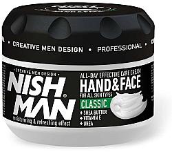 Fragrances, Perfumes, Cosmetics Hand & Face Cream - Nishman Hand & Face Cream Classic