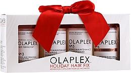 Fragrances, Perfumes, Cosmetics Set - Olaplex Holiday Hair Fix (cond/100ml + shmp/100ml + h/cr/100ml + ser/100ml)