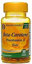 Fragrances, Perfumes, Cosmetics Beta Carotene Dietary Supplement, 100 sofgels - Holland & Barrett Beta Karoten 6mg
