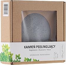 Fragrances, Perfumes, Cosmetics Natural Body Peeling Stone, gray - Pierre de Plaisir Natural Scrubbing Stone Body