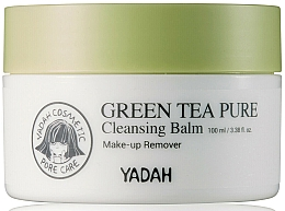 Fragrances, Perfumes, Cosmetics Cleansing Face Balm with Green Tea - Yadah Green Tea Pure Cleansing Balm